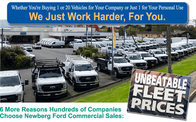Unbeatable Fleet Prices