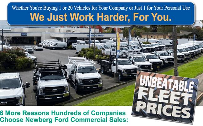 Unbeatable Fleet Prices