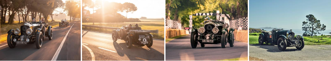 Iconic 1929 Bentley Team Blower