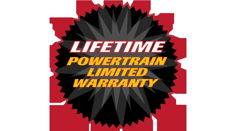 Lifetime Powertrain Limited Warranty