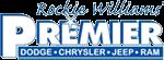 Rockie Williams Premier Chrysler Dodge Jeep Ram Logo