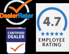 Dealer Rater rating 4.7