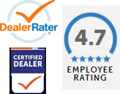 Dealer Rater rating 4.7