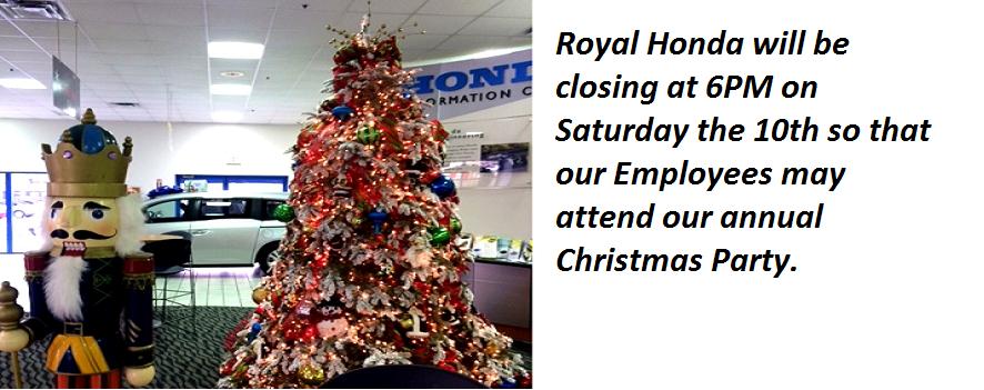 Royal Honda Christmas Party