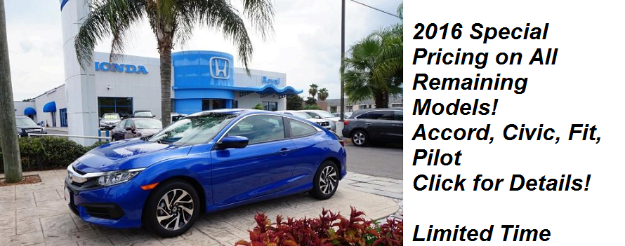2016 Limited Royal Honda Specials