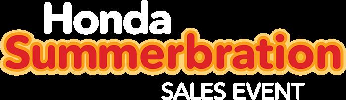 Honda Summerbration Sales Event Logo