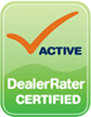 DealerRater Certified