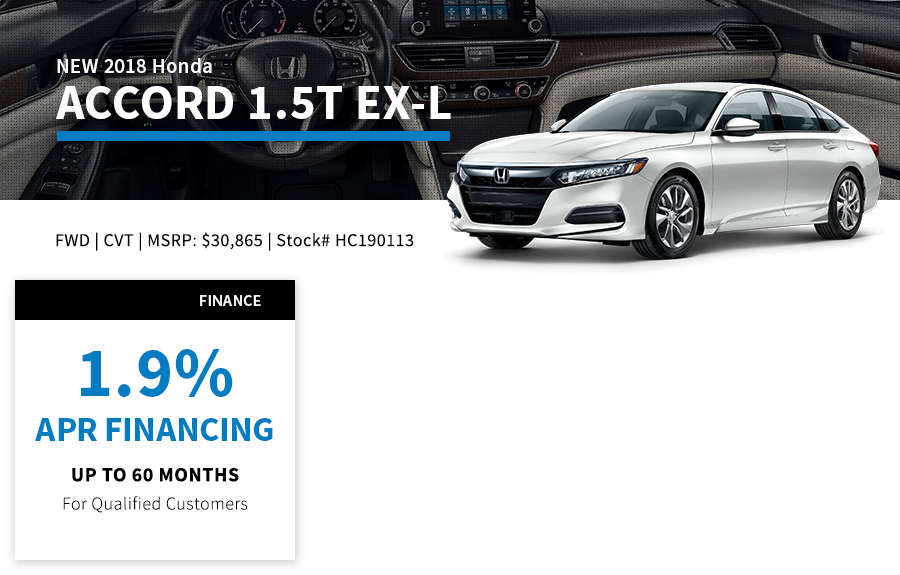 Accord Special Offer