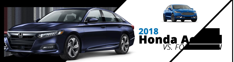 Honda Accord vs Ford Fusion