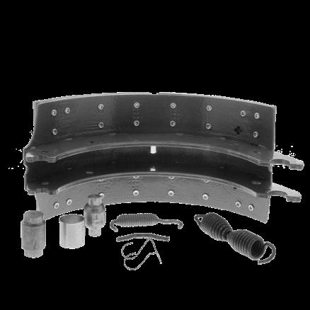 Fleetrite Brake Shoe Kit FLT4707QP23KM