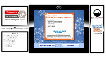 Email Marketing with Brake Service Special example