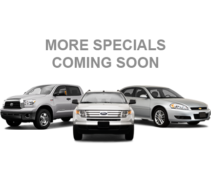 More Specials Coming Soon