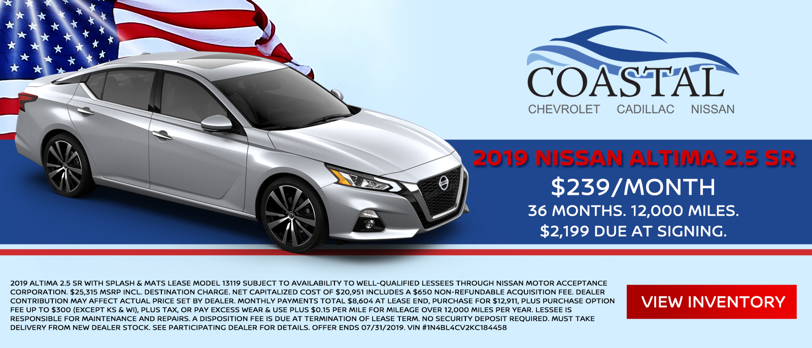 July Altima Special Offer