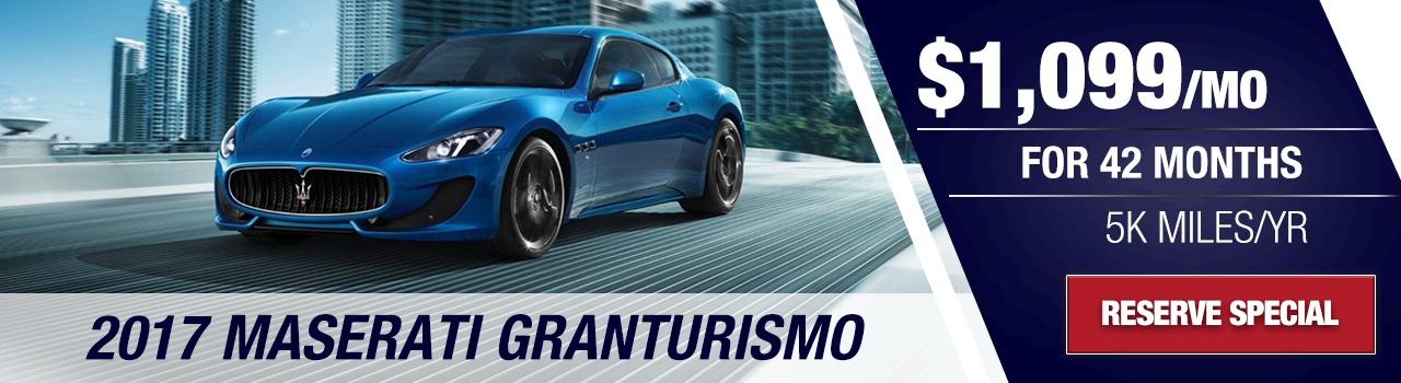 Test Drive Your New Granturismo at Wide World Maserati