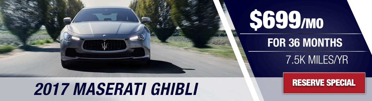 Find Your 2017 Ghibli at Wide World Maserati