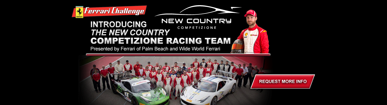 Presenting The Competizione Racing Team