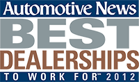 Automotive News - Best Dealerships to Work for 2012
