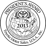 Presidents Award - 2013