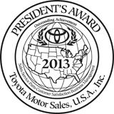 Presidents Award - 2013