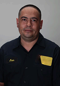 Juan Nunez - Lead Mechanic