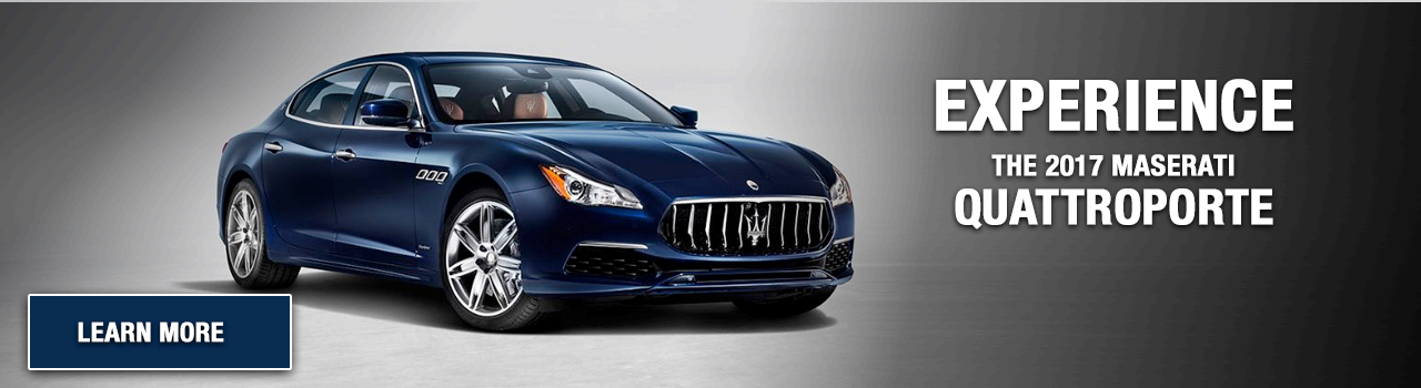 Test Drive the Quattroporte at Maserati of Palm Beach
