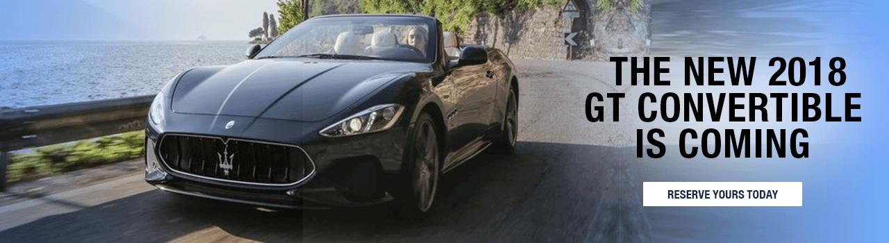 The 2018 Maserati Granturismo Convertible is coming to Palm Beach