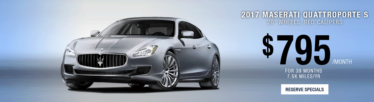 Lease or Purchase the Quattroporte at Maserati of Palm beach