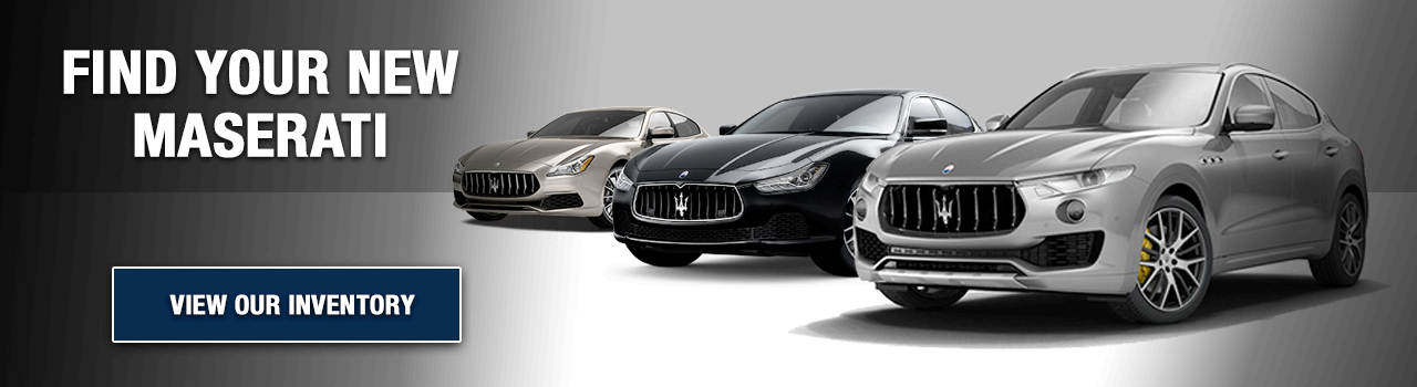 Find Your New Maserati