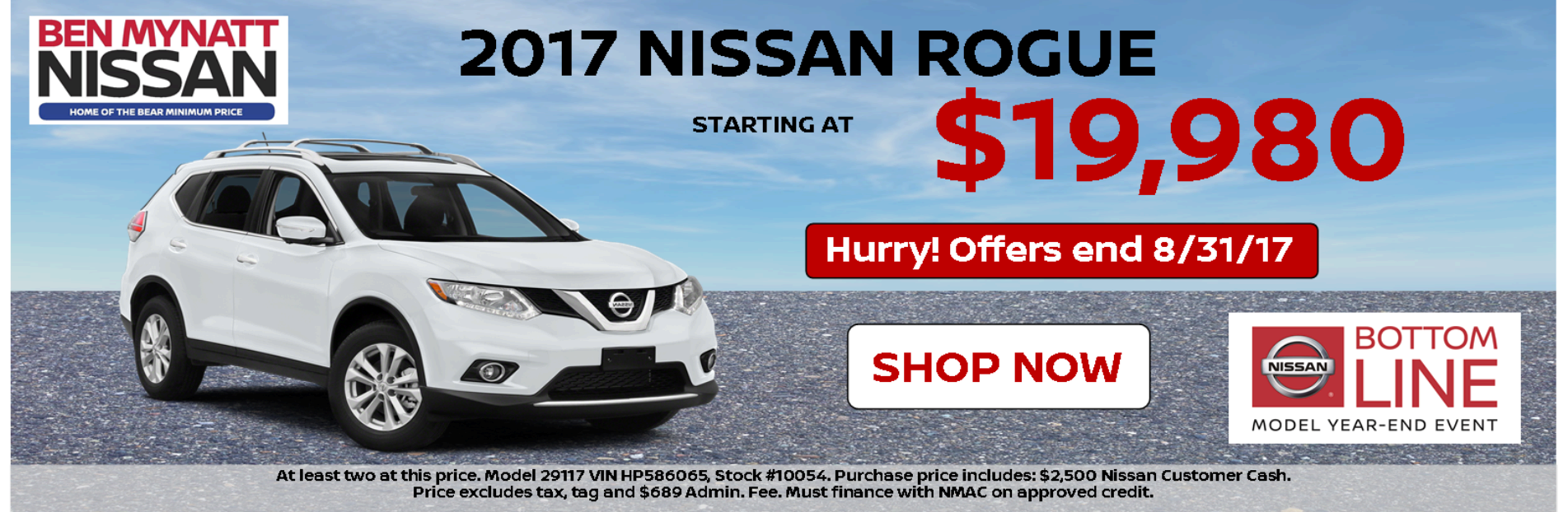 Ben Mynatt Nissan Is Your Salisbury NC Nissan Dealer
