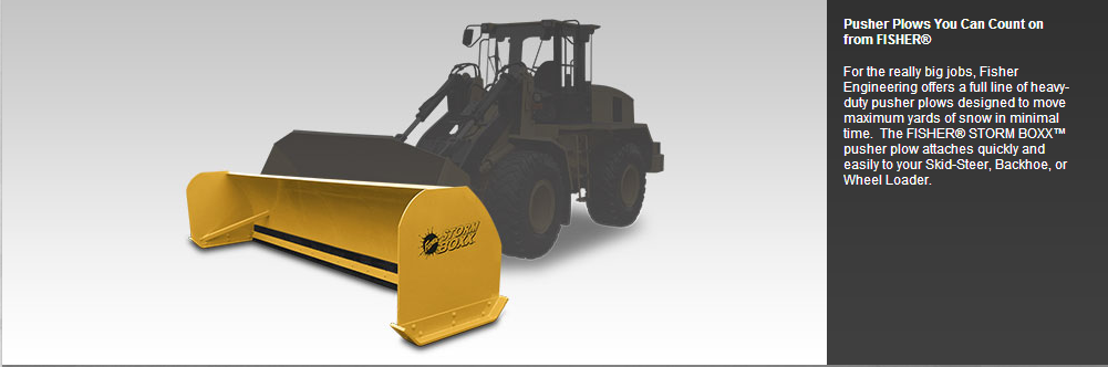 Storm Boxx Pusher Plow