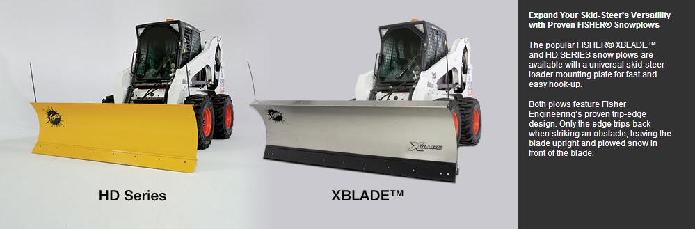 Skid-Steer Plows