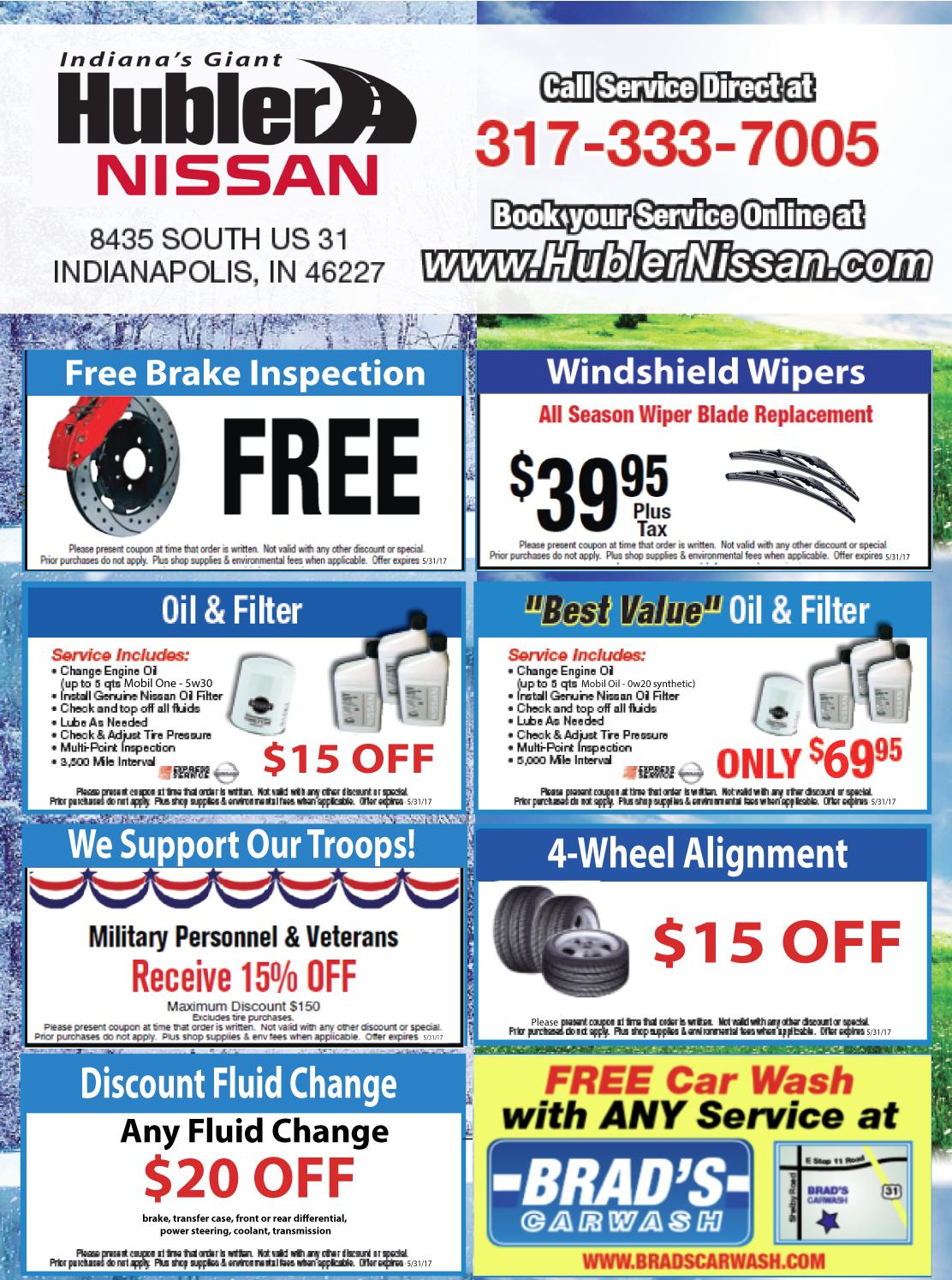 Hubler-Nissan-March-2017-Service-Specials
