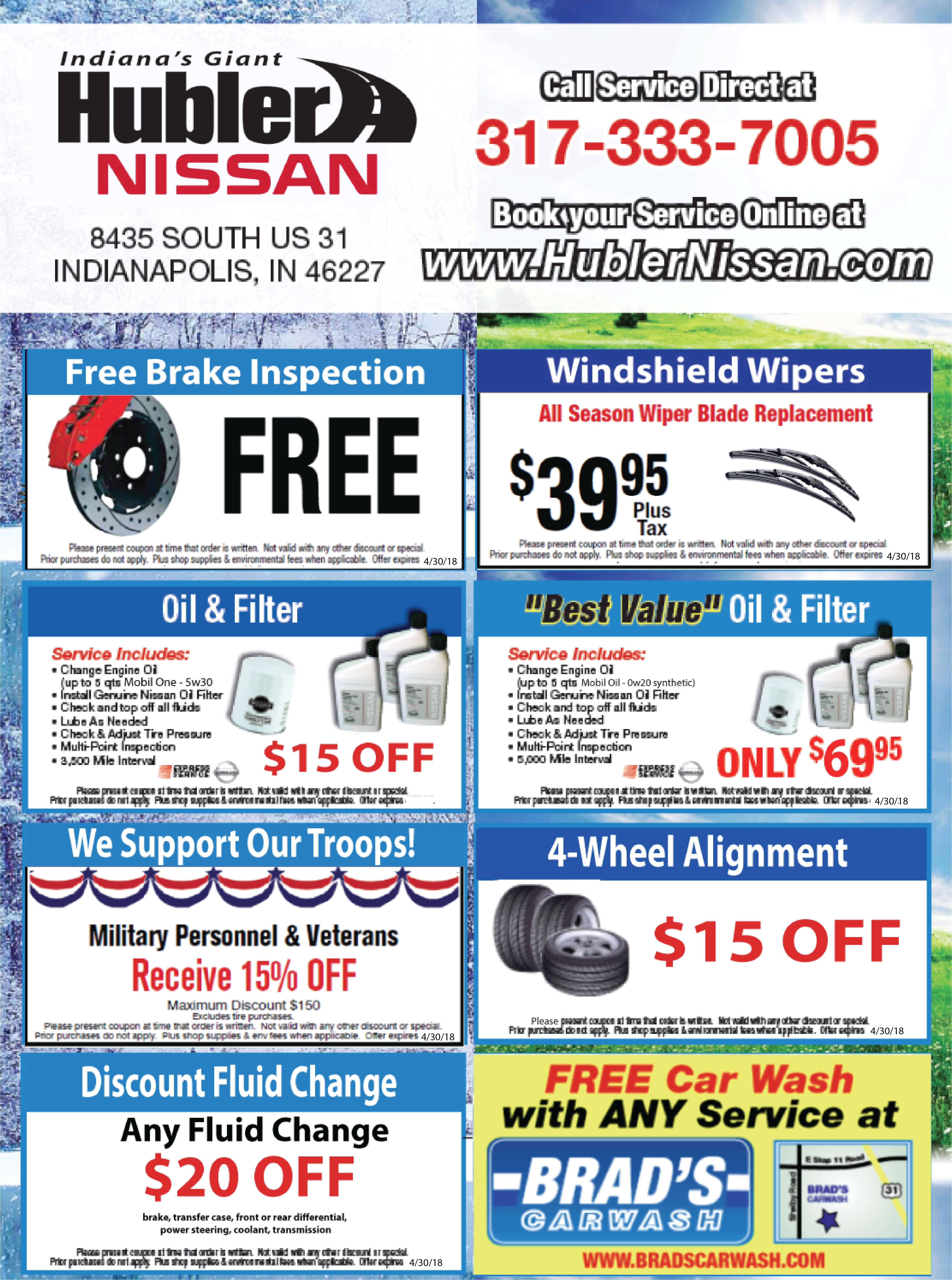 Toyota Oil Change Coupons >> Nissan Service Coupons | Low Prices on Nissan Car Repairs ...