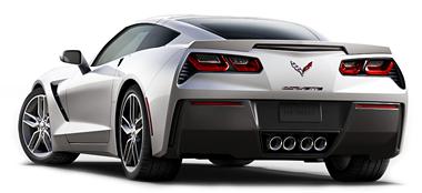 2015 Corvette Rear