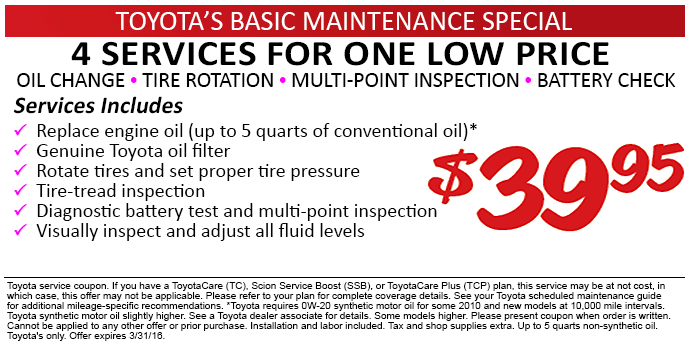 printable toyota oil change coupons your one stop shop for northeast pa toyota service 24085 | MarchRegional Home