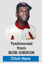 Testimonial from Bob Gibson