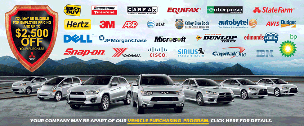See if you qualify for the Mitsubishi VIp Purchase Program and Sve Thousands!