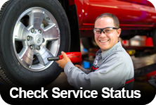Check Service Status at Lawley Toyota