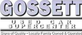 Gossett Used Cars Supercenter Logo