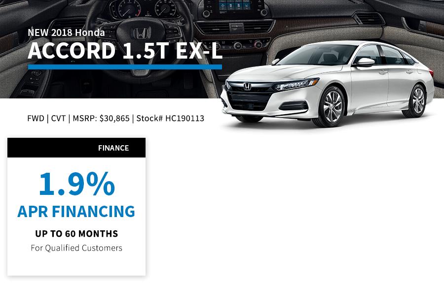 Honda Finance Specials >> Reineke New Honda Specials